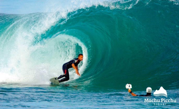 Probably every surfer has spent hours watching images of perfect waves in paradisiacal places